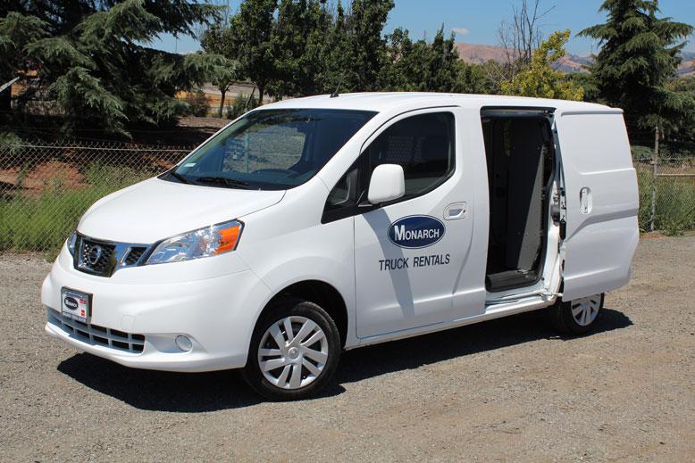 Nissan Cargo Van >> Mini Cargo Van (New Nissan NV200) | Monarch Truck