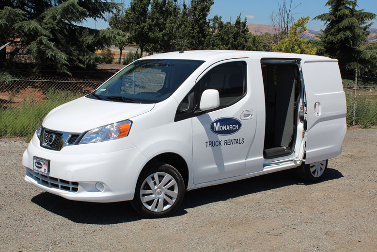Fleet Truck Sales >> Mini Cargo Van (New Nissan NV200) | Monarch Truck