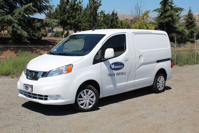 Mini Cargo Van New Nissan Nv200 Monarch Truck