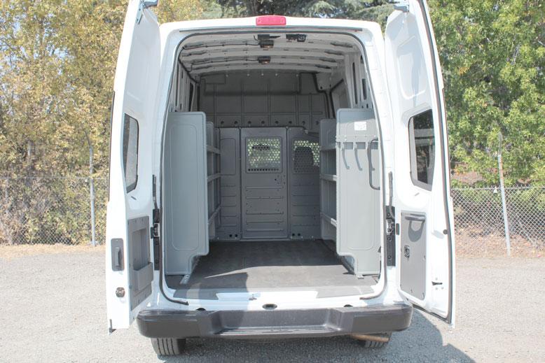 Nissan Cargo Van >> Nissan NV2500 HD High Roof Cargo Van | Monarch Truck