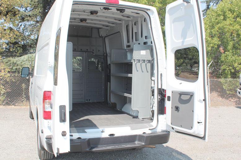 Nissan San Jose >> Nissan NV2500 HD High Roof Cargo Van   Monarch Truck