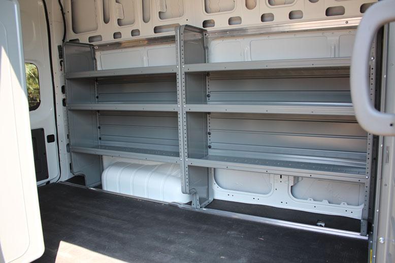 Nissan Nv2500 Hd High Roof Cargo Van Monarch Truck