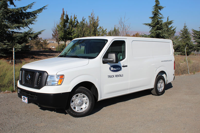 nissan nv2500 cargo van monarch truck. Black Bedroom Furniture Sets. Home Design Ideas