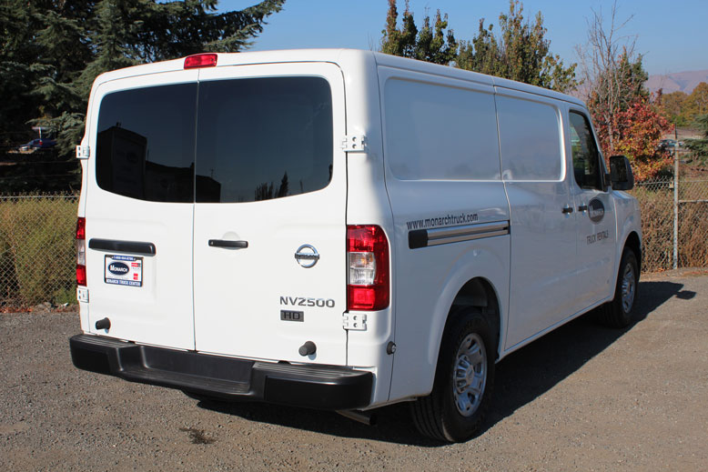 Nissan Nv2500 Cargo Van Monarch Truck