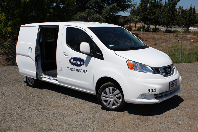 Nissan Union City >> Mini Cargo Van (New Nissan NV200) | Monarch Truck