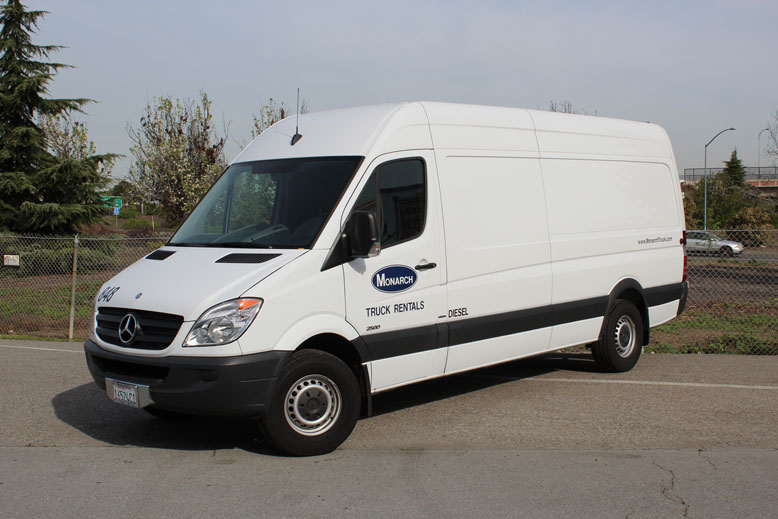 Cargo Vans - Sprinter Vans | Monarch Truck